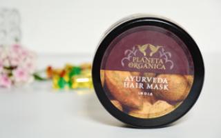Маска для волос минеральная для роста волос