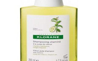 Клоран шампунь хинин укрепляющий против выпадения волос