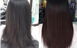 Молекулярное восстановление волос matrix