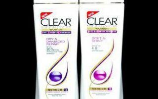 Clear шампунь против выпадения волос