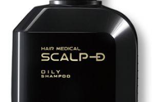 Японский шампунь против выпадения волос