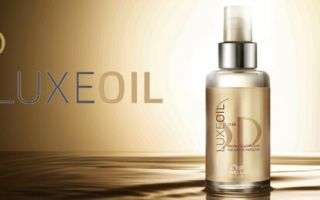 Масло для волос luxe oil