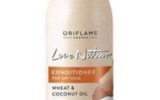 Масло для сухих волос пшеница и кокос