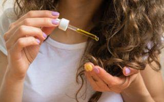 Густое масло для волос крапивное