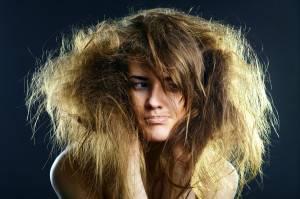 Что свидетельствует о сухости волос