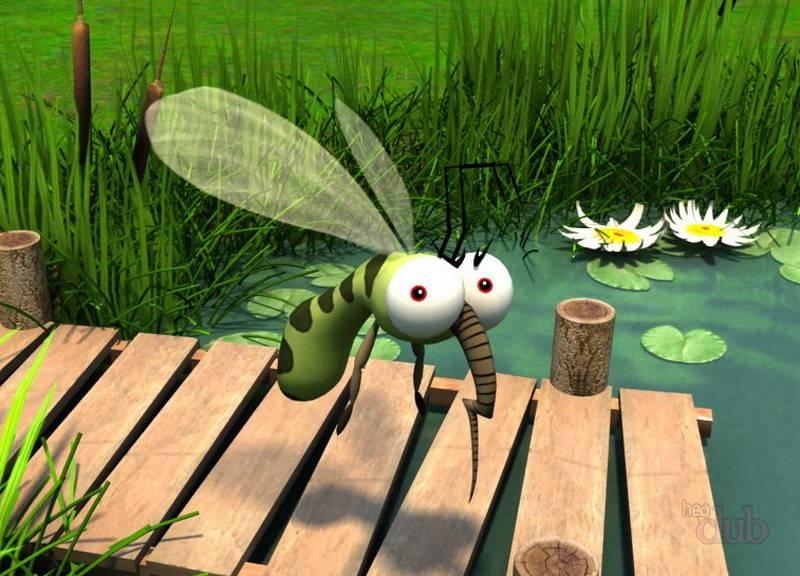 Запах эвкалипта отпугивает насекомых