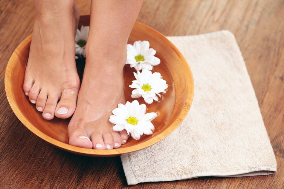 Ванночки для ног с эвкалиптом