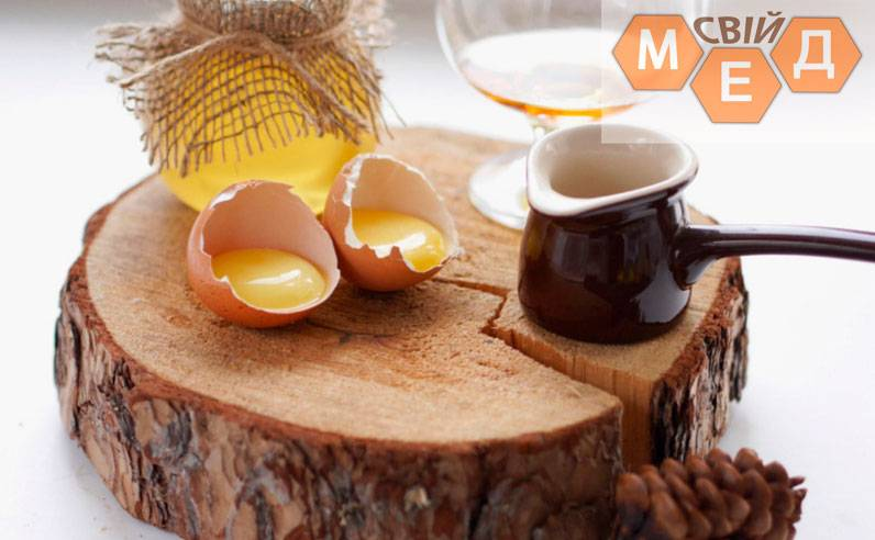 Желток яйца для волос