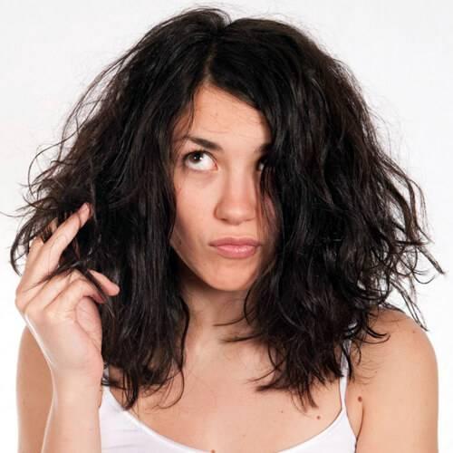 Быстро лечим ломкие волосы