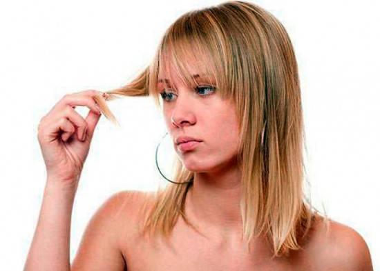 Виды повреждения волос