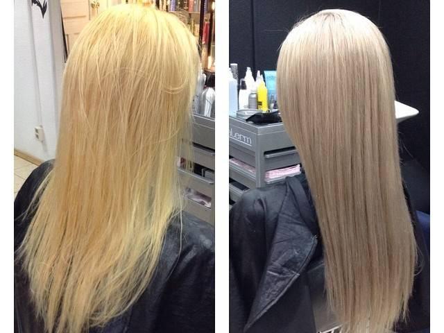 цвет волос после тонирования
