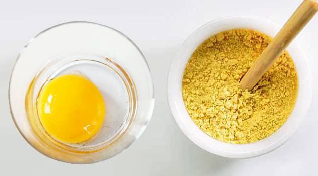 маска для роста волос горчица сахар яйцо