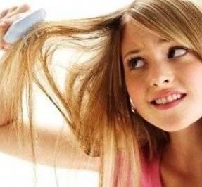 Выпадение волос у девочек-подростков