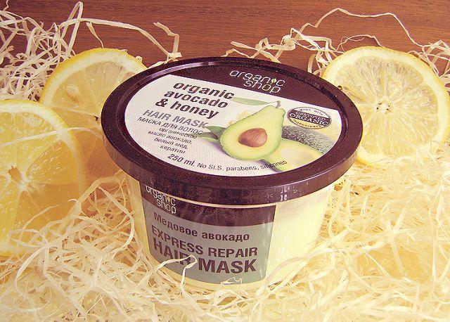 Маска для волос «Медовое авокадо» от Organic Shop фото 1