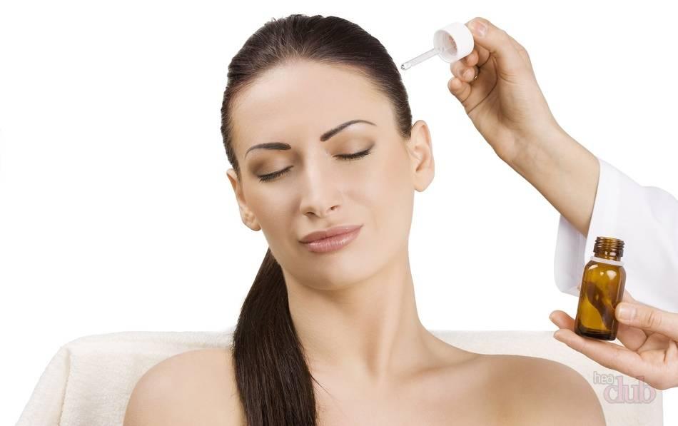В каких случаях используют чемеричную воду от выпадения волос?