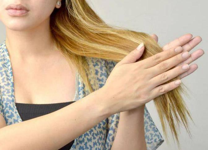 несмываемые масла для волос