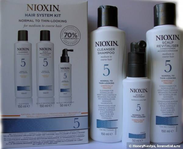 Nioxin Hair system kit №5