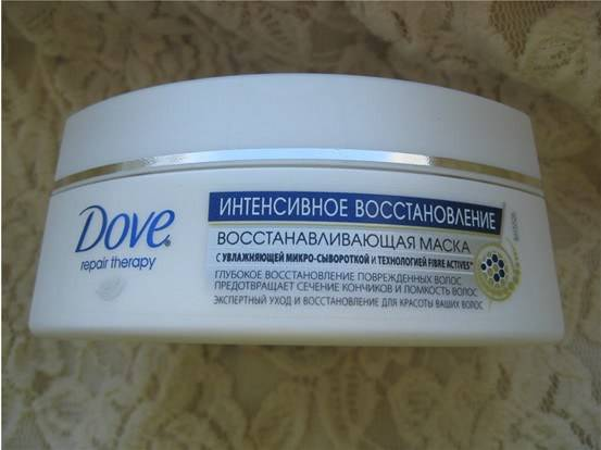 Маска для волос Dove Repair Therapy Интенсивное восстановление