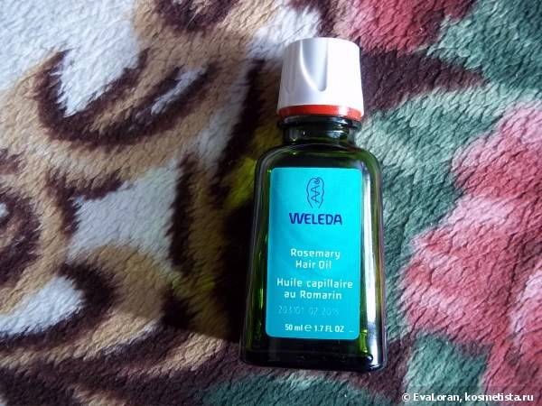 Масло для волос Weleda Rosemary Hair Oil